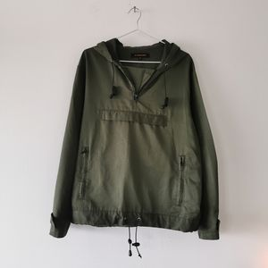 Olive Green S2 Square Anorak